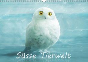 Süsse Tierwelt / AT-Version / Geburtstagskalender (Wandkalender 2018 DIN A3 quer) von Schoisswohl,  Silvio