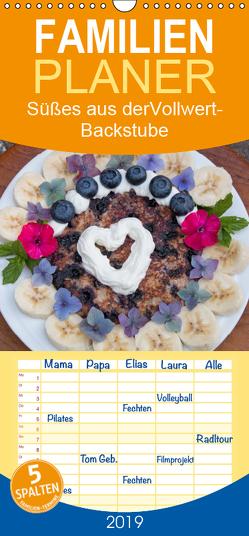 Süßes aus der Vollwert-Backstube – Familienplaner hoch (Wandkalender 2019 , 21 cm x 45 cm, hoch) von SusaZoom