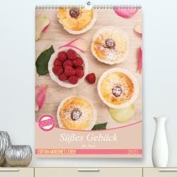 Süßes Gebäck für Dich (Premium, hochwertiger DIN A2 Wandkalender 2021, Kunstdruck in Hochglanz) von Steiner und Matthias Konrad,  Carmen