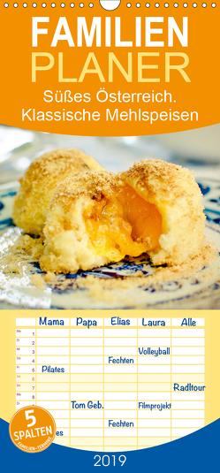 Süßes Österreich. Klassische Mehlspeisen – Familienplaner hoch (Wandkalender 2019 , 21 cm x 45 cm, hoch) von Hurley,  Rose