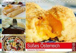 Süßes Österreich. Klassische Mehlspeisen (Tischkalender 2018 DIN A5 quer) von Hurley,  Rose