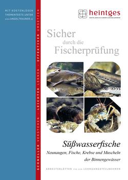 Süßwasserfische, Neunaugen, Fische, Krebse und Muscheln der Binnengewässer von Bayrle,  Hermann, Heintges,  Wolfgang