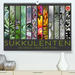 Sukkulenten in Haus und Garten (Premium, hochwertiger DIN A2 Wandkalender 2020, Kunstdruck in Hochglanz) von Cross,  Martina