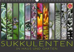 Sukkulenten in Haus und Garten (Wandkalender 2020 DIN A3 quer) von Cross,  Martina