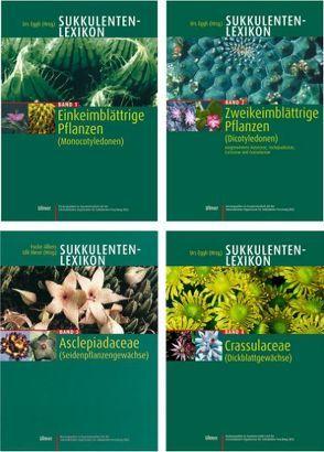 Sukkulentenlexikon Bände 1 – 4 von Eggli,  Urs