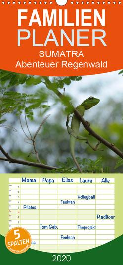 SUMATRA Abenteuer Regenwald – Familienplaner hoch (Wandkalender 2020 , 21 cm x 45 cm, hoch) von Grallert,  Bettina