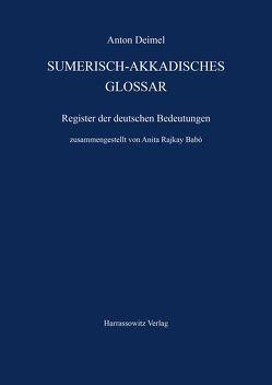 Sumerisch-Akkadisches Glossar von Babó,  Anita R, Deimel,  Anton