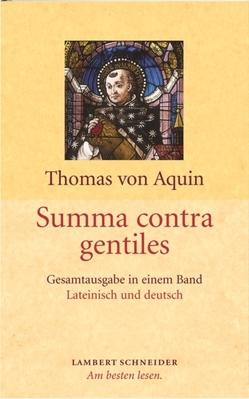 Summa contra gentiles von Albert-Daniel,  Eva, Allgaier,  Karl, Engelhardt,  Paulus, Wörner,  Markus