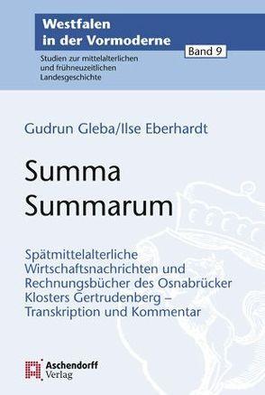 Summa Summarum von Eberhardt,  Ilse, Gleba,  Gudrun