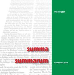 summa summarum von Seppelt,  Dieter