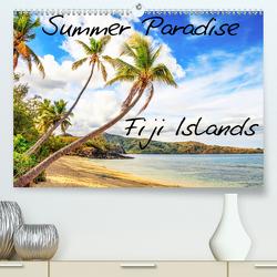 Summer Paradise Fiji (Premium, hochwertiger DIN A2 Wandkalender 2020, Kunstdruck in Hochglanz) von Braun,  Tobias