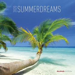 Summerdreams 2020 – Sommerträume – Wandkalender – Broschürenkalender (30 x 60 geöffnet) – Landschaftskalender – Wandplaner – Strand – Meer von ALPHA EDITION