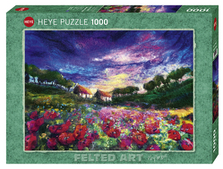 Sundown Poppies Puzzle von Mackay,  Moy