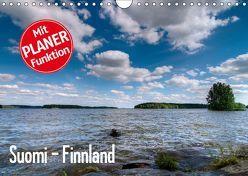 Suomi – Finnland (Wandkalender 2019 DIN A4 quer) von Härlein,  Peter