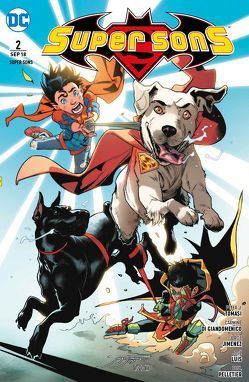 Super Sons von Di Giandomenico,  Carmine, Jimenez,  Jorge, Luis,  Jose, Pelletier,  Paul, Schmitz,  Marc, Tomasi,  Peter J.
