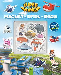 Super Wings Magnet-Spiel-Buch