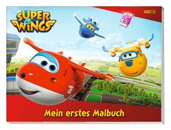 Super Wings: Mein erstes Malbuch