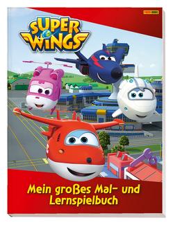 Super Wings: Mein großes Mal- und Lernspielbuch