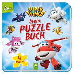 Super Wings – Mein Puzzlebuch von Holthausen,  Luise
