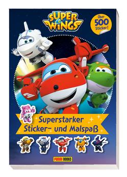 Super Wings: Superstarker Sticker- und Malspaß von Panini