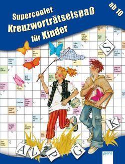 Supercooler Kreuzworträtselspaß für Kinder von Press,  Deike