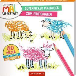 Superdicker Malblock zum Fertigmalen von Drees,  Katharina, Wetzel,  Jutta