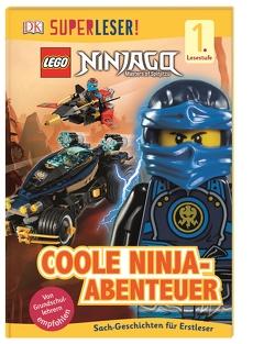 SUPERLESER! LEGO® NINJAGO® Coole Ninja-Abenteuer von Davies,  Beth