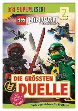 SUPERLESER! LEGO® NINJAGO® Die größten Duelle von Hugo,  Simon, Ridout,  Cefn
