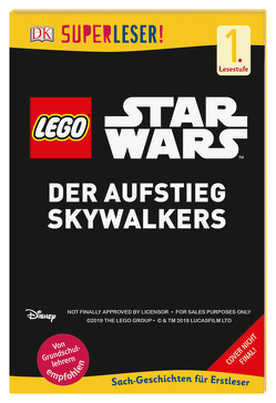 SUPERLESER! LEGO® Star Wars™ Der Aufstieg Skywalkers von Amos,  Ruth, Winter,  Marc