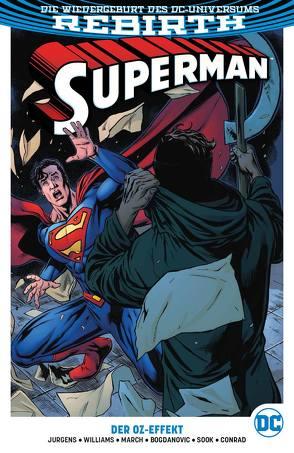Superman von Bogdanovic,  Viktor, Conrad,  Will, Heiss,  Christian, Jurgens,  Dan, March,  Guillem, Sook,  Ryan, Williams,  Rob