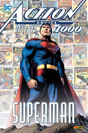 Superman: Action Comics 1000 (Deluxe Edition) von Bendis,  Brian Michael, Heiss,  Christian, Johns,  Geoff, Jurgens,  Dan, King,  Tom, Lee,  Jim, Schmitz,  Marc, Snyder,  Scott, Swan,  Kurt, Tomasi,  Peter J.