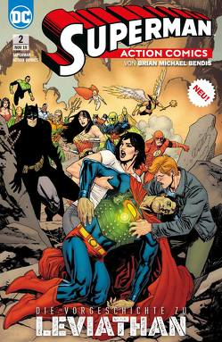 Superman: Action Comics von Andreyko,  Marc, Bendis,  Brian Michael, Epting,  Steve, Ferreira,  Julio, Fraction,  Matt, Heiss,  Christian, Lieber,  Steve, Pansica,  Eduardo, Paquette,  Yanick, Perkins,  Mike, Rucka,  Greg