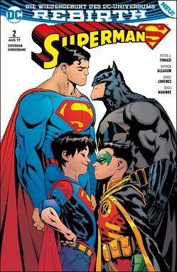 Superman Sonderband von Gleason,  Pat, Heiss,  Christian, Jimenez,  Jorge, Mahnke,  Doug, Tomasi,  Peter J.