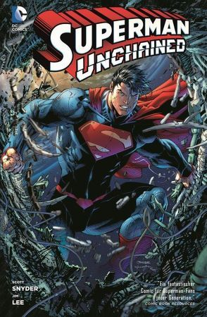 Superman Unchained von Lee,  Jim, Snyder,  Scott