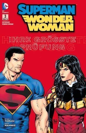 Superman / Wonder Woman von Mahnke,  Doug, Tomasi,  Peter J.