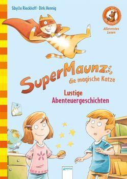 SuperMaunz, die magische Katze. Lustige Abenteuergeschichten von Hennig,  Dirk, Rieckhoff,  Sibylle