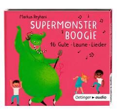 Supermonster-Boogie. 16 Gute Laune-Lieder (CD) von Kitzing,  Constanze, Reyhani,  Markus