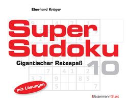 Supersudoku 10 (5 Exemplare à 3,99 €) von Krüger,  Eberhard