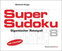 Supersudoku 8 (5 Exemplare à 3,99 €) von Krüger,  Eberhard
