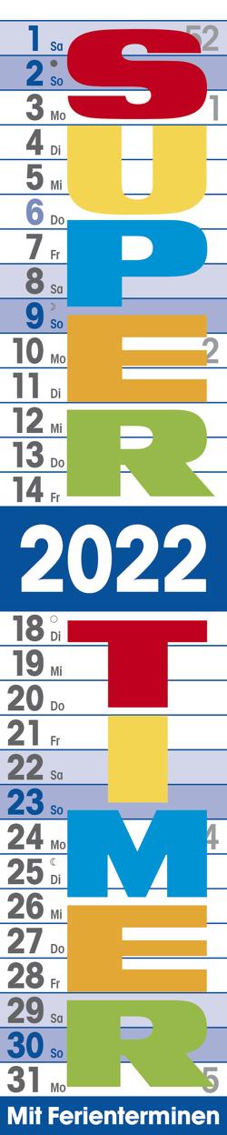 Supertimer 2022 von Korsch Verlag
