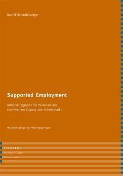 Supported Employment von Moesch Payot,  Peter, Schaufelberger,  Daniel