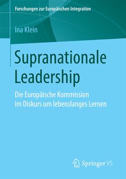 Supranationale Leadership von Klein,  Ina