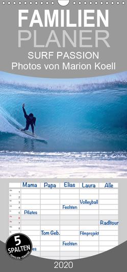SURF PASSION 2020 Photos von Marion Koell – Familienplaner hoch (Wandkalender 2020 , 21 cm x 45 cm, hoch) von KOELL,  MARION