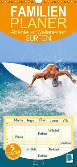 Surfen: Abenteuer Wellenreiten (Wandkalender 2019 , 21 cm x 45 cm, hoch) von CALVENDO