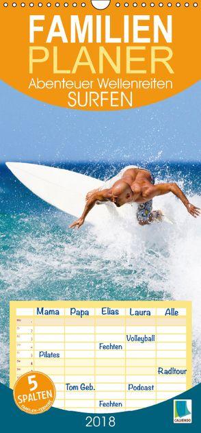 Surfen: Abenteuer Wellenreiten (Wandkalender 2018 PRO_49_format hoch) von CALVENDO,  k.A.
