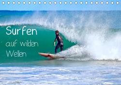 Surfen auf wilden Wellen (Tischkalender 2021 DIN A5 quer) von Meyer © Stimmungsbilder1,  Marion