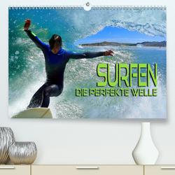 Surfen – die perfekte Welle (Premium, hochwertiger DIN A2 Wandkalender 2020, Kunstdruck in Hochglanz) von Bleicher,  Renate