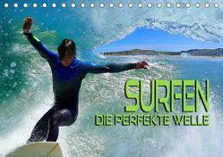 Surfen – die perfekte Welle (Tischkalender 2019 DIN A5 quer) von Bleicher,  Renate