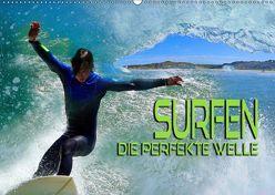 Surfen – die perfekte Welle (Wandkalender 2019 DIN A2 quer) von Bleicher,  Renate