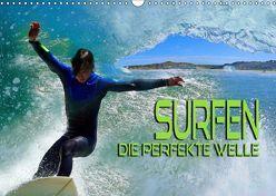 Surfen – die perfekte Welle (Wandkalender 2019 DIN A3 quer) von Bleicher,  Renate